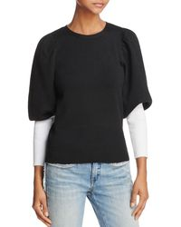Parker - Risa Contrast-color Sleeve Sweater - Lyst