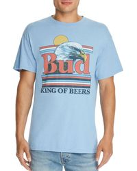 Junk Food Bud Graphic Tee - Blue