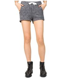 The Kooples | Grosgrain Mini Shorts | Lyst