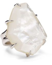 Kendra Scott - Megan Mother-of-pearl Statement Ring - Lyst