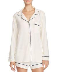 Eberjey - Gisele Long Sleeve Short Pyjama Set - Lyst