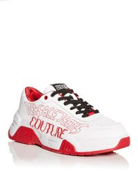 Versace Jeans Couture Logo Low Top Trainers - Multicolour