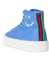 PS by Paul Smith Kibby High Top Trainers - Blue