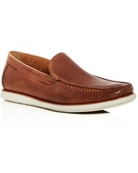 Kenneth Cole - Men's Cyrus Perforated Leather Loafers - Lyst