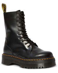 Dr. Martens Women's Jadon Hi Lace Up Boots - Black