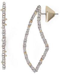 Alexis Bittar - Swarovski Crystal-encrusted Abstract Thorn Drop Earrings - Lyst