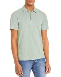 Theory Bron Regular Fit Polo Shirt - Green