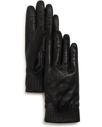 Canada Goose - Leather Tech Gloves - Lyst