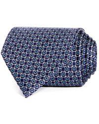 Ferragamo - Gioco Gancini Silk Classic Tie - Lyst