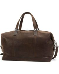 Frye - Oliver Leather Overnight Duffle - Lyst