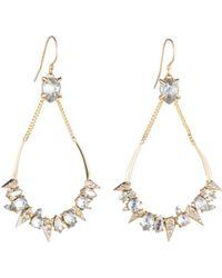 Alexis Bittar - Swarovski Crystal Encrusted Mosaic Teardrop Earrings - Lyst