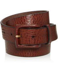 Frye - Men's Chase Leather Belt - Lyst