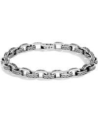 John Hardy - Men's Classic Chain Link Sterling Silver Bracelet - Lyst