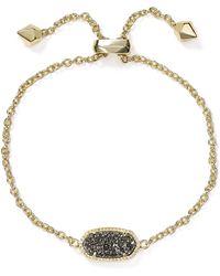 Kendra Scott Elaina Drusy Bracelet - Metallic