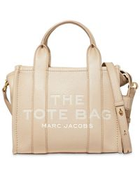 Marc Jacobs The Leather Mini Tote Bag - Red