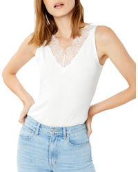 Generation Love Charlee Lace Tank - White