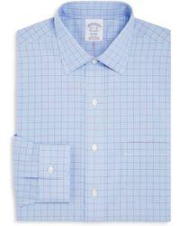 Brooks Brothers - Overcheck Regular Fit Dress Shirt - Lyst