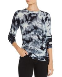 C By Bloomingdale's Splatter Tie - Dye Cashmere Sweater - Multicolor