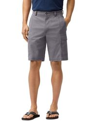 Tommy Bahama Key Isles Cargo Shorts - Gray