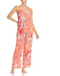 Josie The Siesta Cami Pyjama Set - Pink