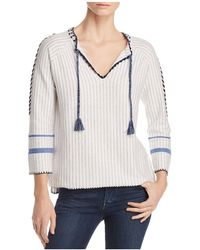 Lisa Todd - The Escape Embroidered Tassel Sweater - Lyst