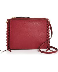 Annabel Ingall - Everly Pebbled Leather Crossbody - Lyst