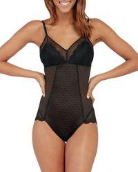 Spanx Spotlight On Lace Bodysuit - Black
