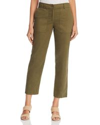 Eileen Fisher - Organic Cotton Ankle Pants - Lyst
