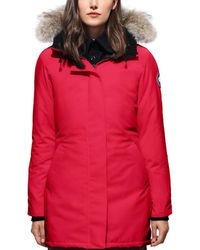 Canada Goose - Victoria Down-filled Shell Parka Jacket - Lyst