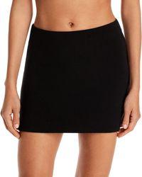 Frankie's Bikinis Windward Swim Skirt - Black
