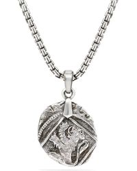 David Yurman Shipwreck Coin Amulet - Metallic