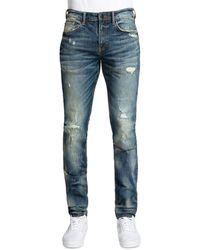 PRPS Levan Skinny Fit Jeans In Indigo - Blue