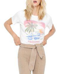 Pam & Gela Paradise Concert Graphic Tee - White