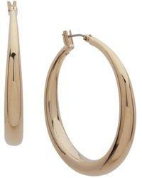 Ralph Lauren - Lauren Large Graduated Hoop Earrings - Lyst