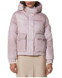 Marc New York Andrew Cheyenne Stone Wash Hooded Puffer Coat - Multicolour