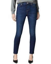 Jag Jeans Valentina Pull On Skinny Jeans In West Side - Blue