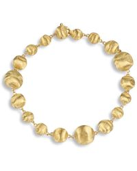 """Marco Bicego - """"africa Collection"""" Beaded Bracelet - Lyst"""