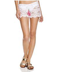 Pilyq - Lexi Swim Cover-up Shorts - Lyst