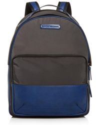 Armani - Emporio Color - Block Nylon & Leather Backpack - Lyst