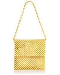 Faithfull The Brand Beaded Shoulder Bag - Yellow
