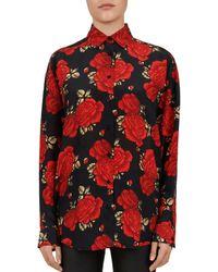 Hobbs Passionflower Silk Blouse Lyst