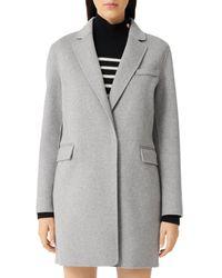 Maje Galami Coat - Grey