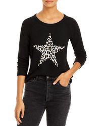 Chaser Printed Star Sweatshirt - Black