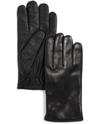 Bloomingdale's - Cashmere-lined Basic Tech Gloves - Lyst