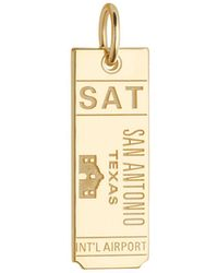 Jet Set Candy - Sat San Antonio Texas Luggage Tag Charm - Lyst