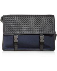 Bottega Veneta Men's Messenger Bag - Multicolour