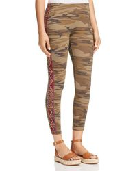 Johnny Was - Marjan Embroidered Camo Leggings - Lyst
