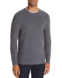 Bloomingdale's Textured Sweater - Gray