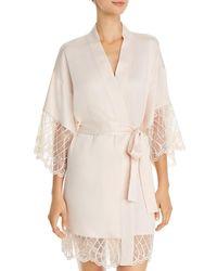 Flora Nikrooz Gabby Kimono Robe - Pink