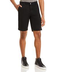 AG Jeans Griffin Regular Fit Shorts - Black